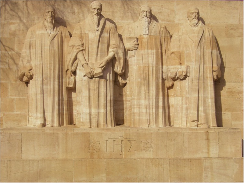 The Reformation Wall, University of Geneva, Switzerland