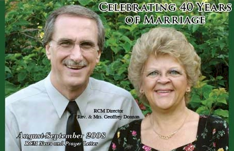 Donnans Celebrate 40 Years of Marriage Bliss!